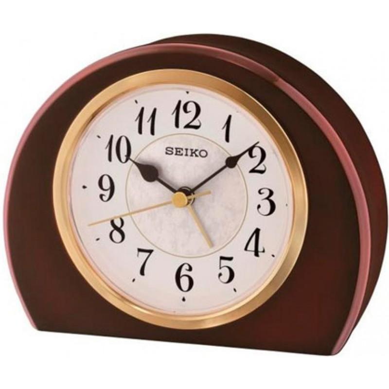 Настольные часы Seiko Clock QXE054BN. Коллекция Настольные часы