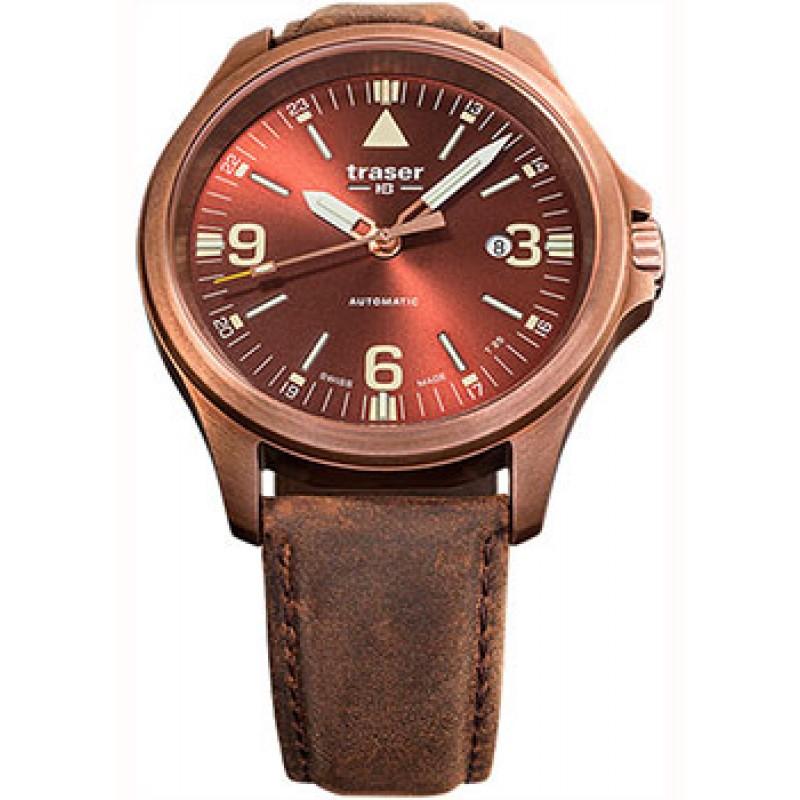 Швейцарские наручные  мужские часы Traser TR.108073. Коллекция Professional