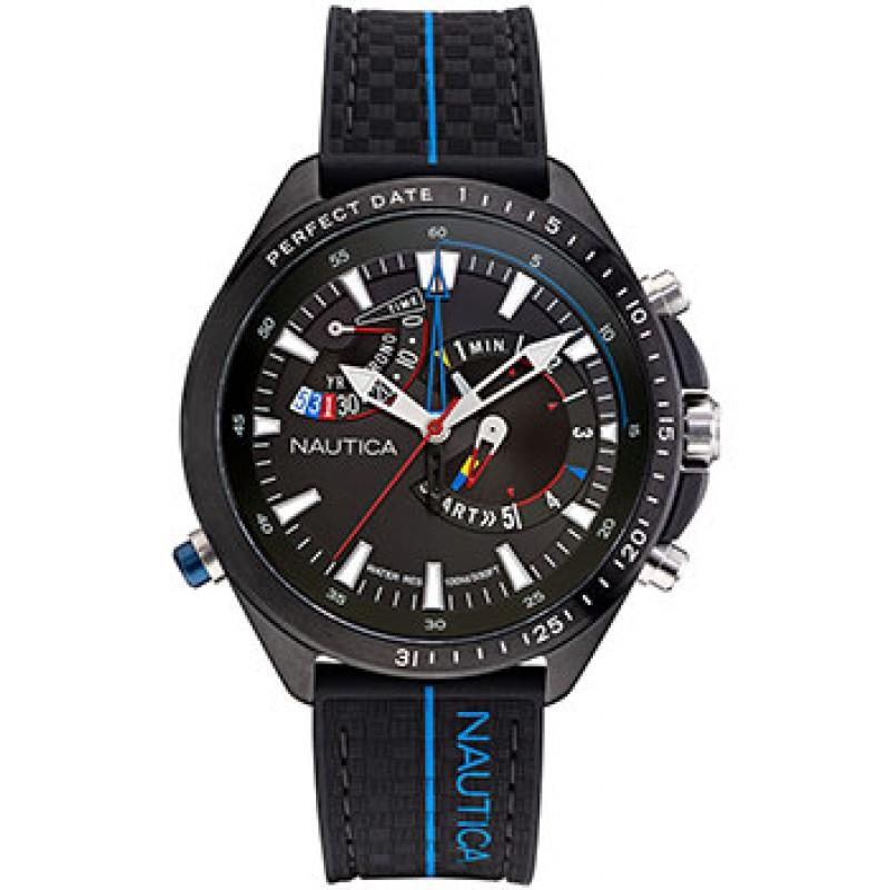 Швейцарские наручные  мужские часы Nautica NAPSWS001. Коллекция Star world
