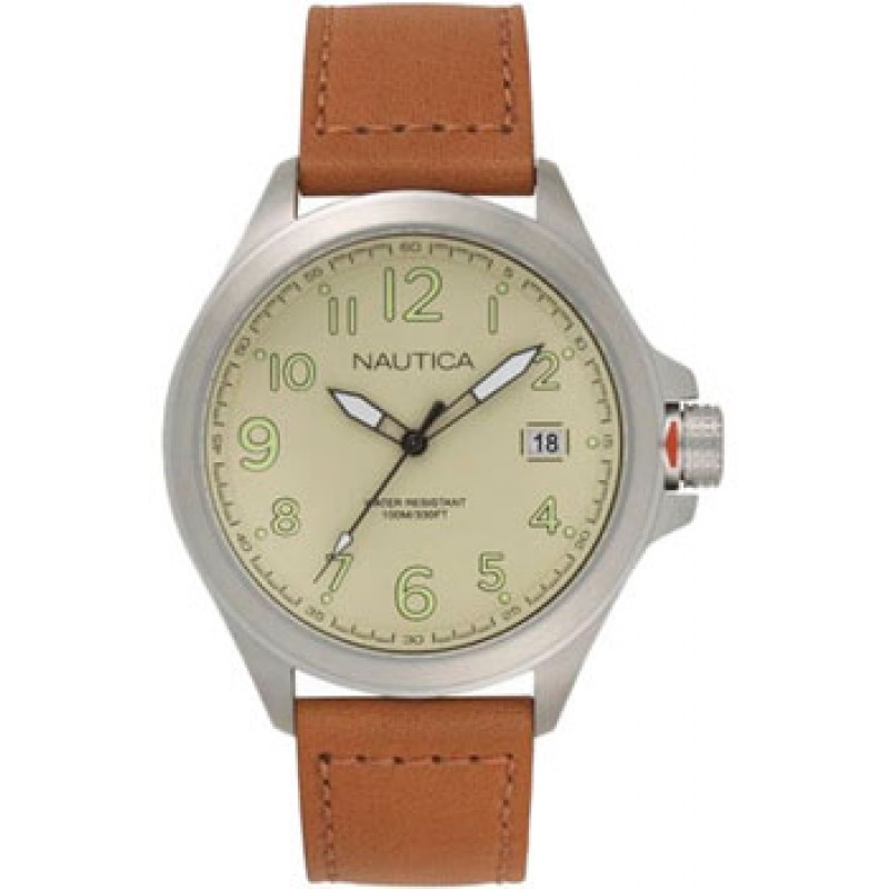 Швейцарские наручные  мужские часы Nautica NAPGLP003. Коллекция Glen Park