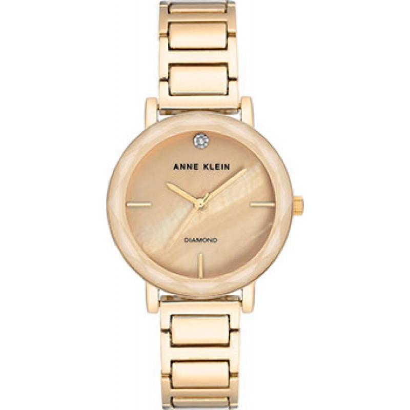 fashion наручные  женские часы Anne Klein 3278TMGB. Коллекция Diamond