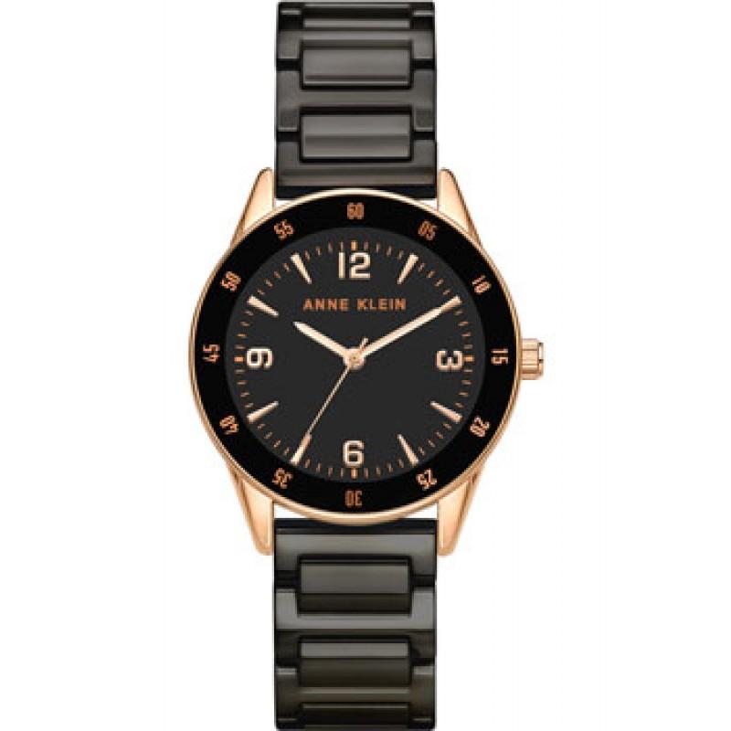 fashion наручные  женские часы Anne Klein 3658RGBK. Коллекция Ceramic