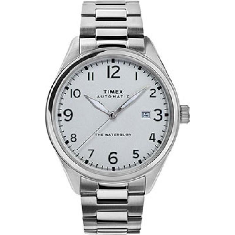 мужские часы Timex TW2T69700VN. Коллекция The Waterbury Automatic