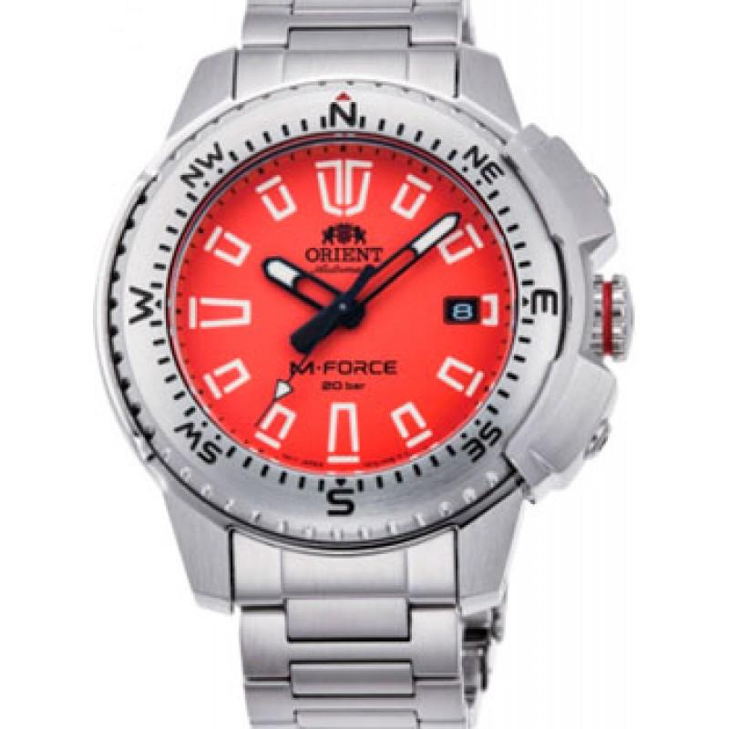 Японские наручные  мужские часы Orient RA-AC0N02Y10B. Коллекция M-Force