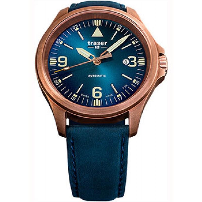 Швейцарские наручные  мужские часы Traser TR.108074. Коллекция Professional
