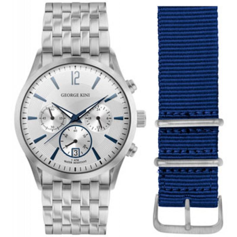 fashion наручные  мужские часы George Kini GK.41.7.1S.1BU.5.S.0. Коллекция Gents Collection