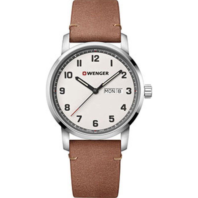Швейцарские наручные  мужские часы Wenger 01.1541.117. Коллекция Attitude Heritage