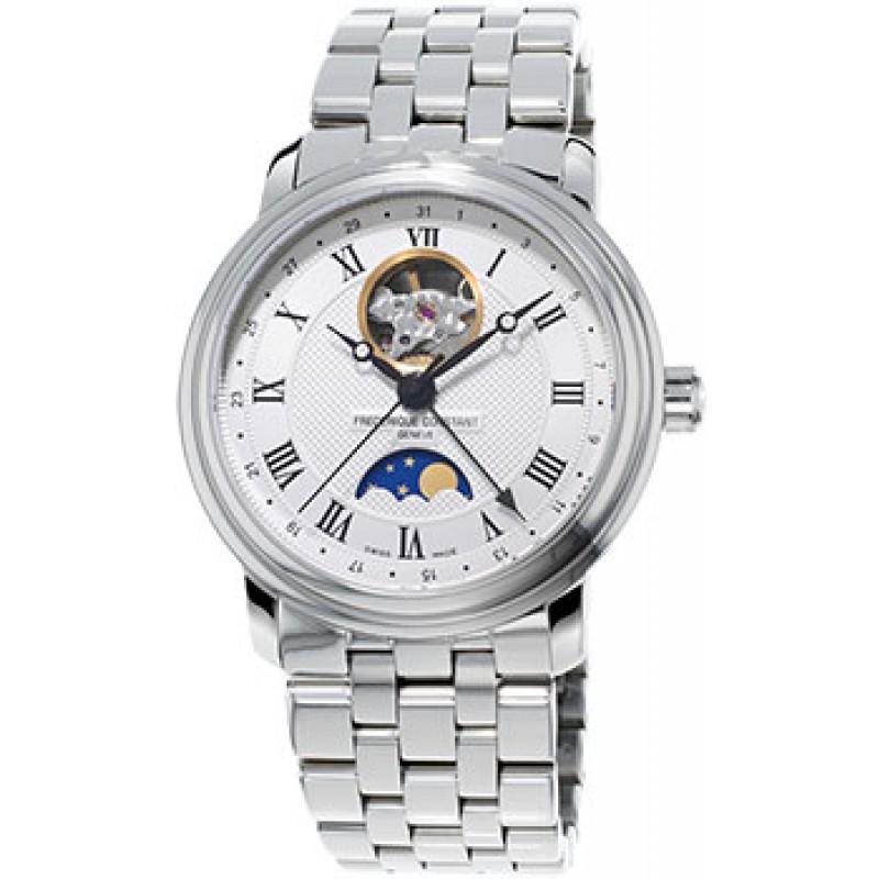 Швейцарские наручные  мужские часы Frederique Constant FC-335MC4P6B2. Коллекция Classics