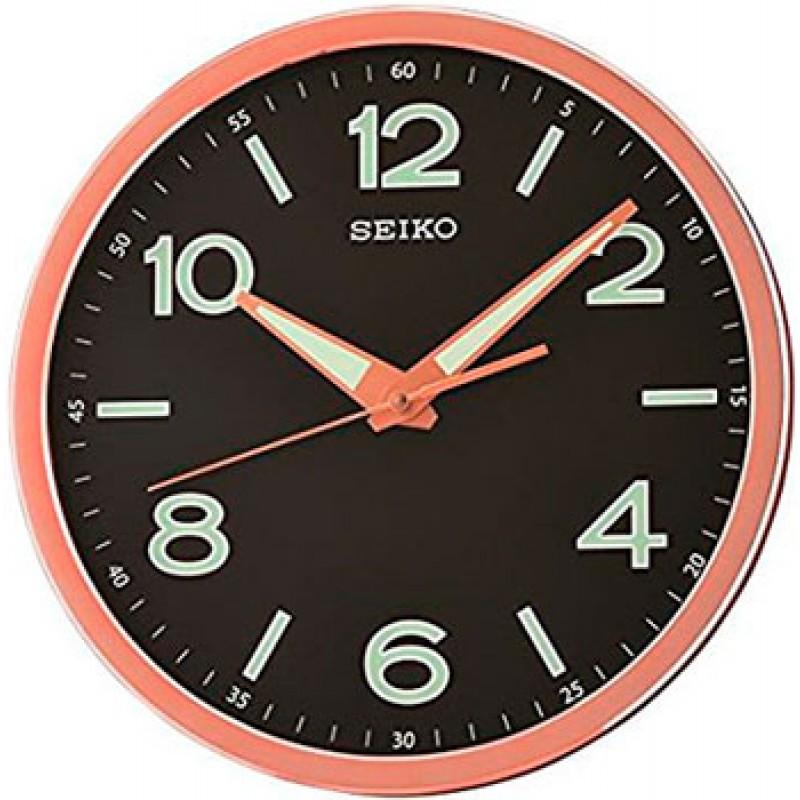 Настенные часы Seiko Clock QXA679PN. Коллекция Настенные часы