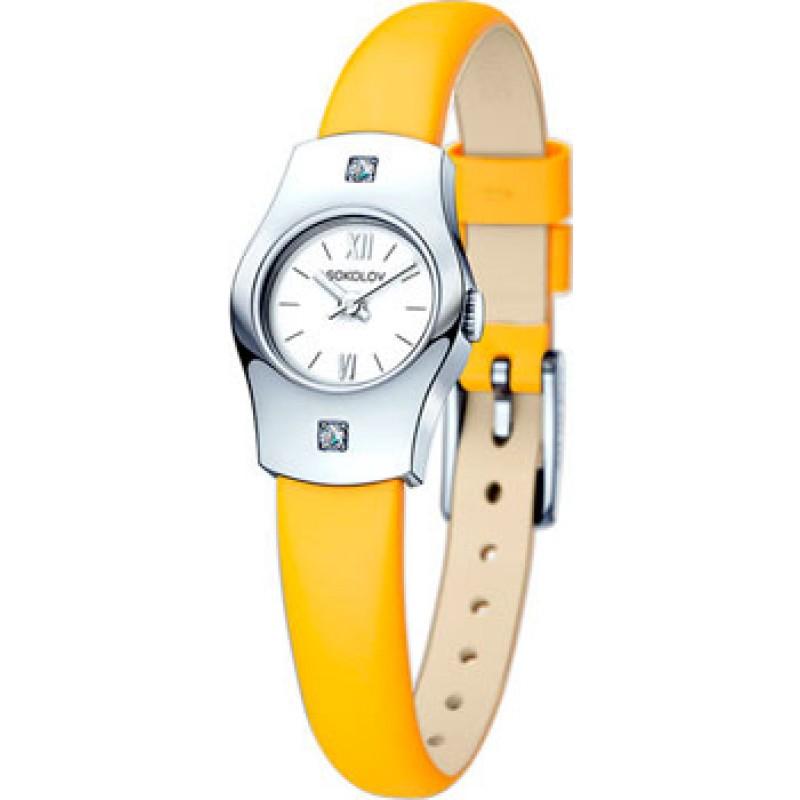fashion наручные  женские часы Sokolov 123.30.00.001.01.04.2. Коллекция Why Not