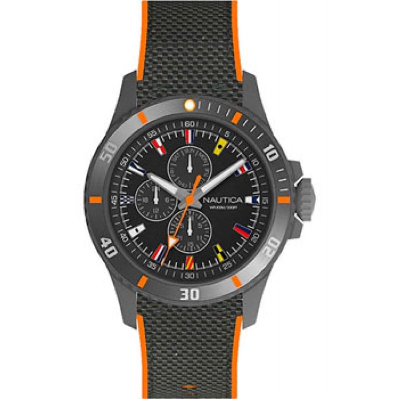 Швейцарские наручные  мужские часы Nautica NAPFRB017. Коллекция Freeboard