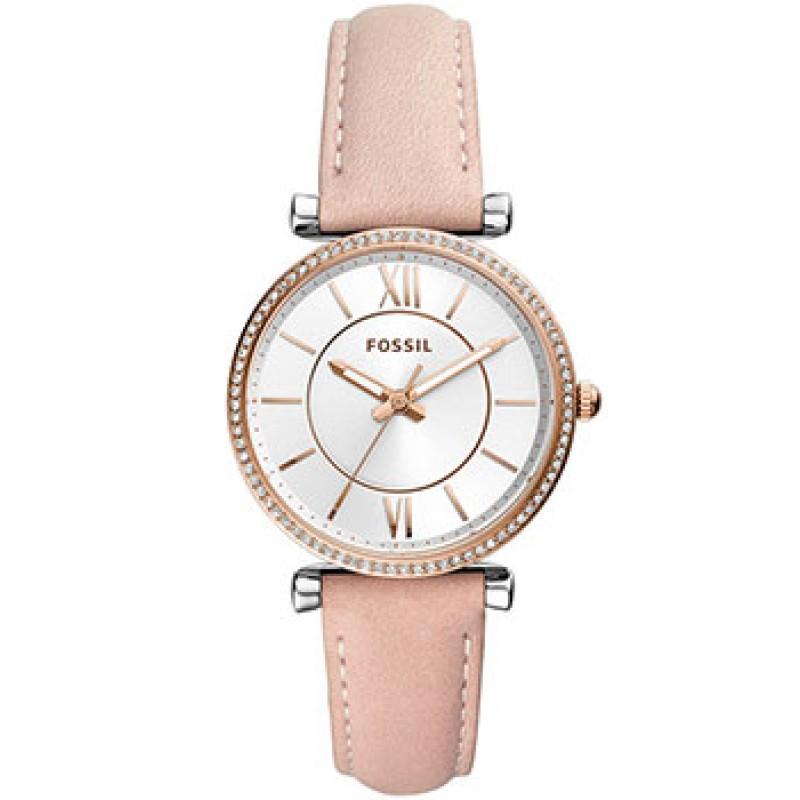 fashion наручные  женские часы Fossil ES4484. Коллекция Carlie