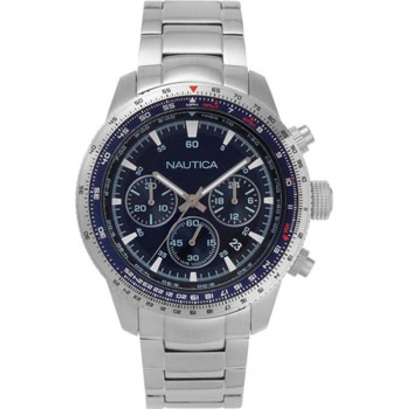 Швейцарские наручные  мужские часы Nautica NAPP39004. Коллекция Pier 39