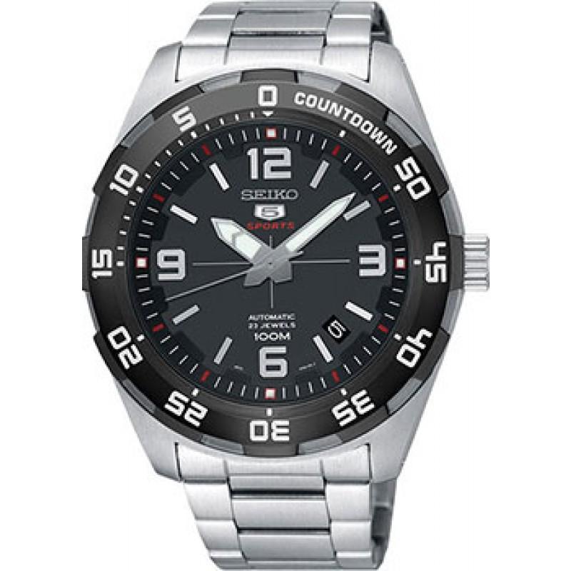 Японские наручные  мужские часы Seiko SRPB81K1. Коллекция Seiko 5 Sports