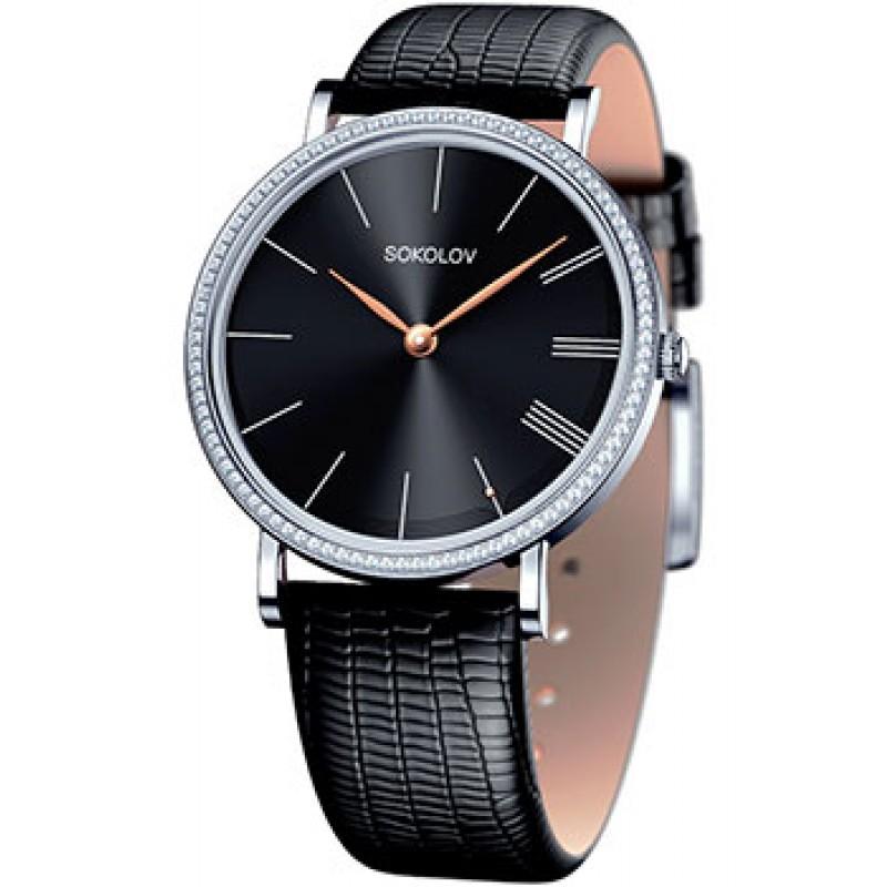 fashion наручные  женские часы Sokolov 153.30.00.001.04.01.2. Коллекция Harmony