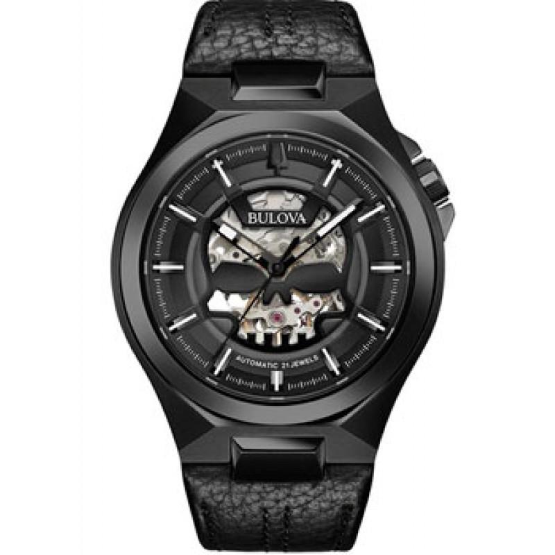 Японские наручные  мужские часы Bulova 98A238. Коллекция Maquina