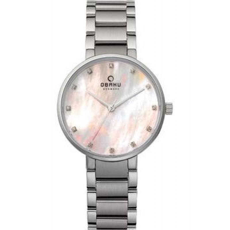 fashion наручные  женские часы Obaku V189LXCPSC. Коллекция Links