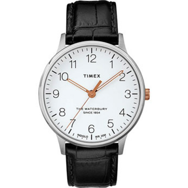 мужские часы Timex TW2R71300VN. Коллекция The Waterbury Classic
