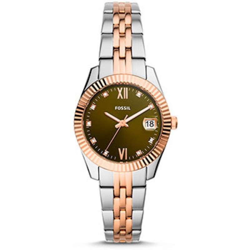 fashion наручные  женские часы Fossil ES4948. Коллекция Scarlette Mini