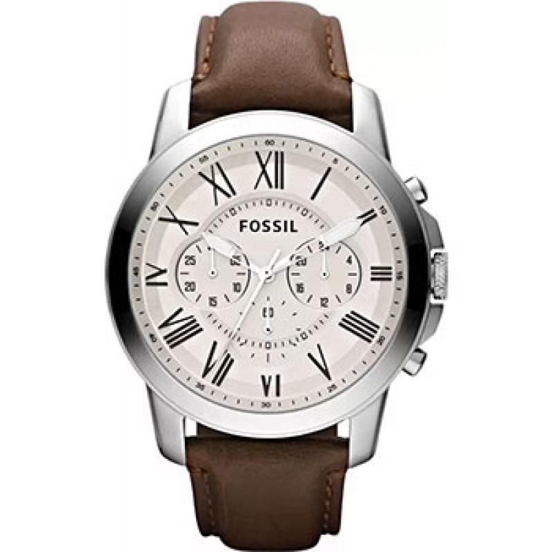 fashion наручные  мужские часы Fossil FS4735IE. Коллекция Grant