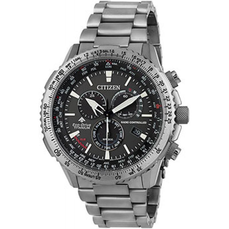 Японские наручные  мужские часы Citizen CB5010-81E. Коллекция Promaster