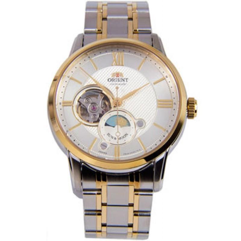 Японские наручные  мужские часы Orient RA-AS0001S00B. Коллекция Automatic