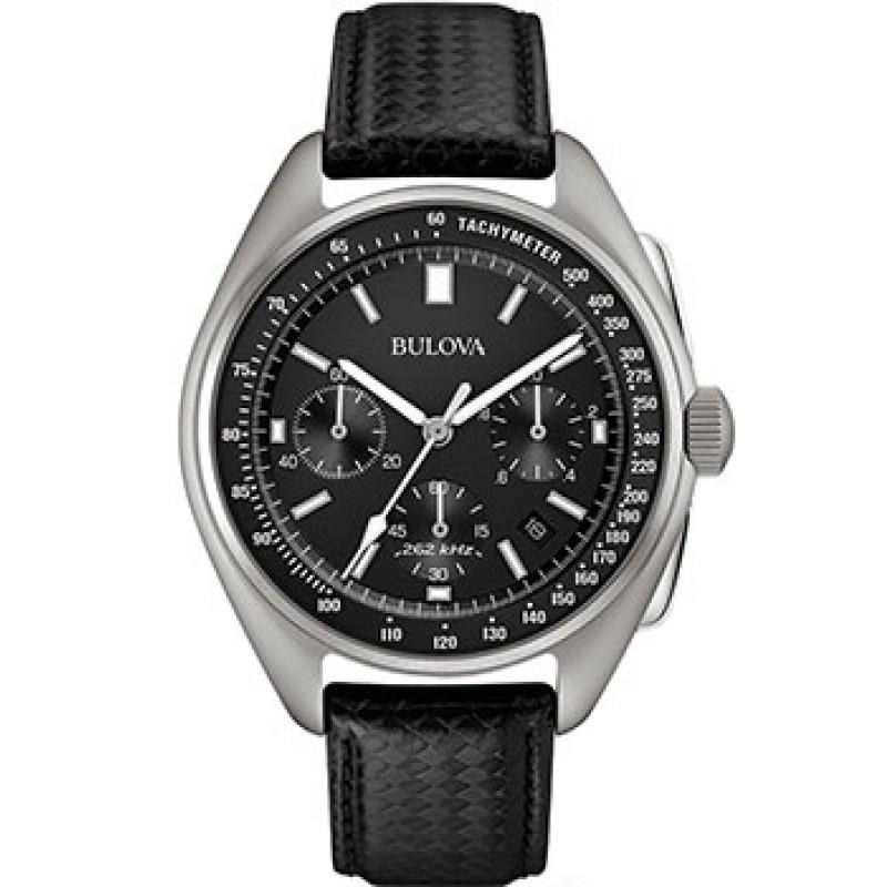 Японские наручные  мужские часы Bulova 96B251. Коллекция Lunar Pilot Chronograph