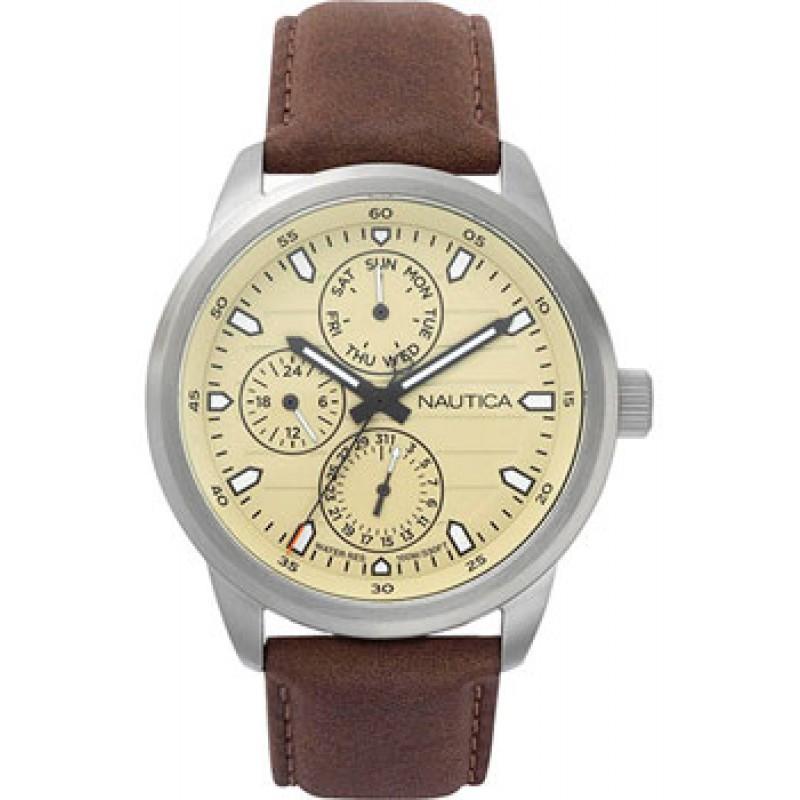 Швейцарские наручные  мужские часы Nautica NAPFRL001. Коллекция Forbell