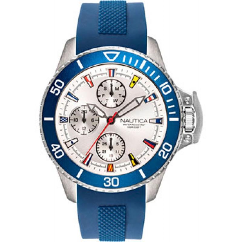 Швейцарские наручные  мужские часы Nautica NAPBYS002. Коллекция Beyside