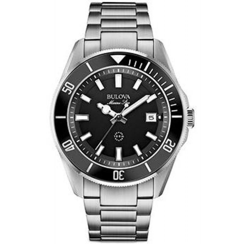 Японские наручные  мужские часы Bulova 98B203. Коллекция Marine Star