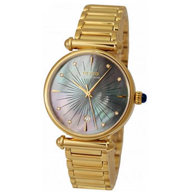 Швейцарские наручные  женские часы Epos 8000.700.22.96.32. Коллекция Ladies