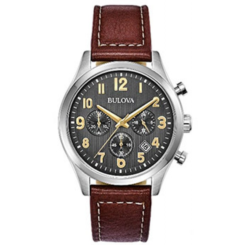 Японские наручные  мужские часы Bulova 96B301. Коллекция Sports