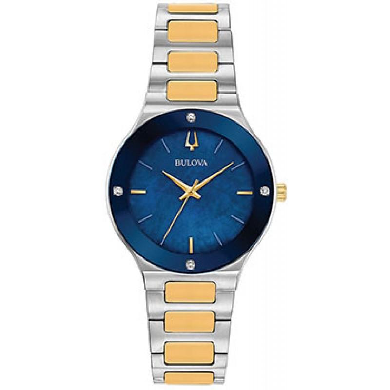 Японские наручные  женские часы Bulova 98R273. Коллекция Milennia