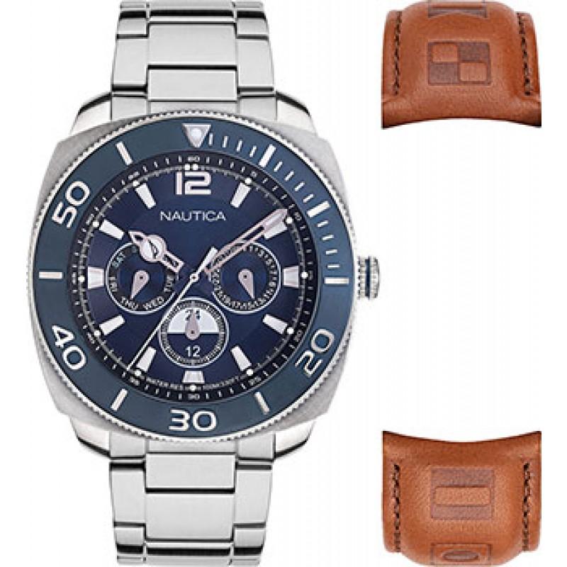 Швейцарские наручные  мужские часы Nautica NAPBHS905. Коллекция Bal Harbour