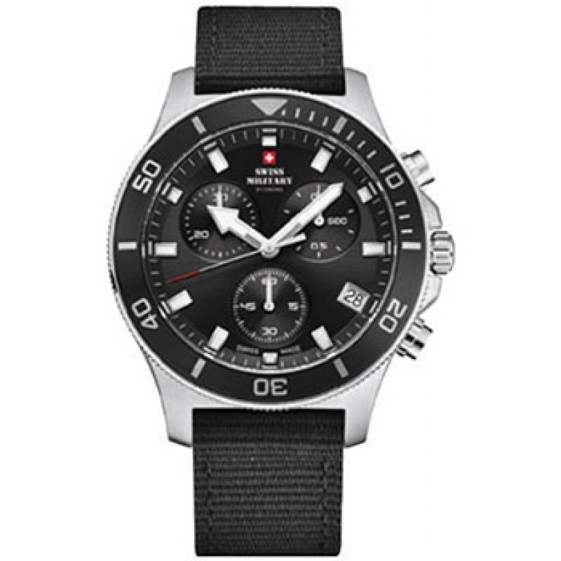 Швейцарские наручные  мужские часы Swiss military SM34067.04. Коллекция Sports