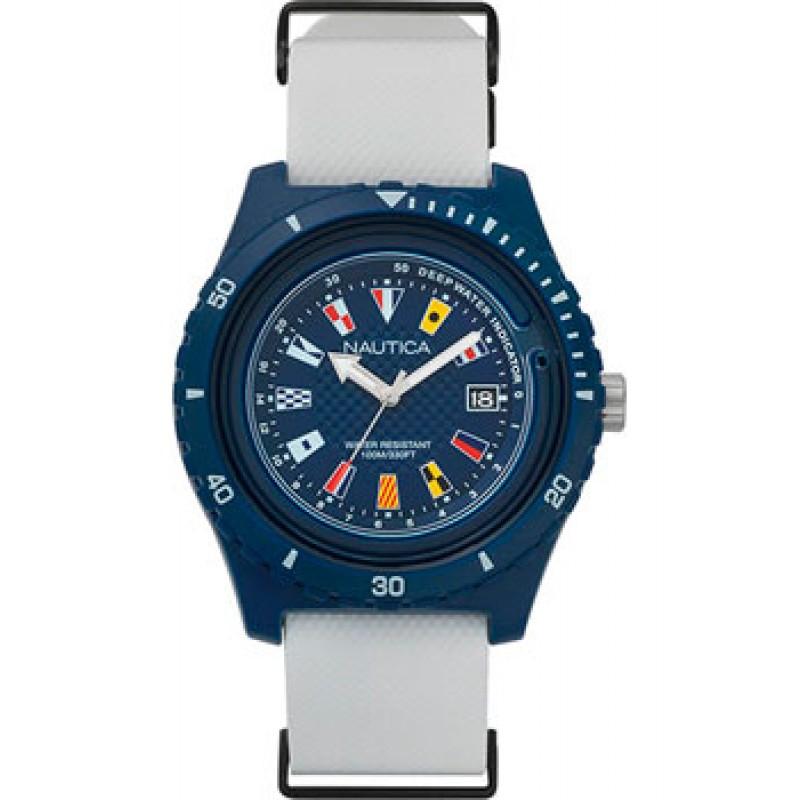 Швейцарские наручные  мужские часы Nautica NAPSRF002. Коллекция Surfside