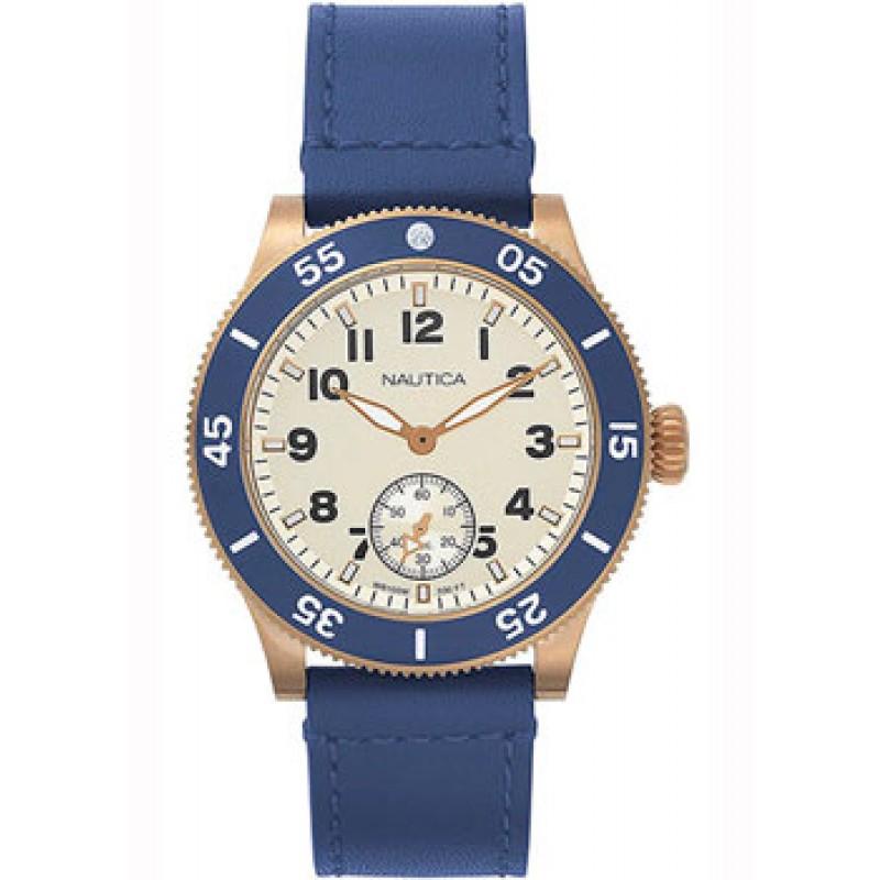 Швейцарские наручные  мужские часы Nautica NAPHST003. Коллекция Sport