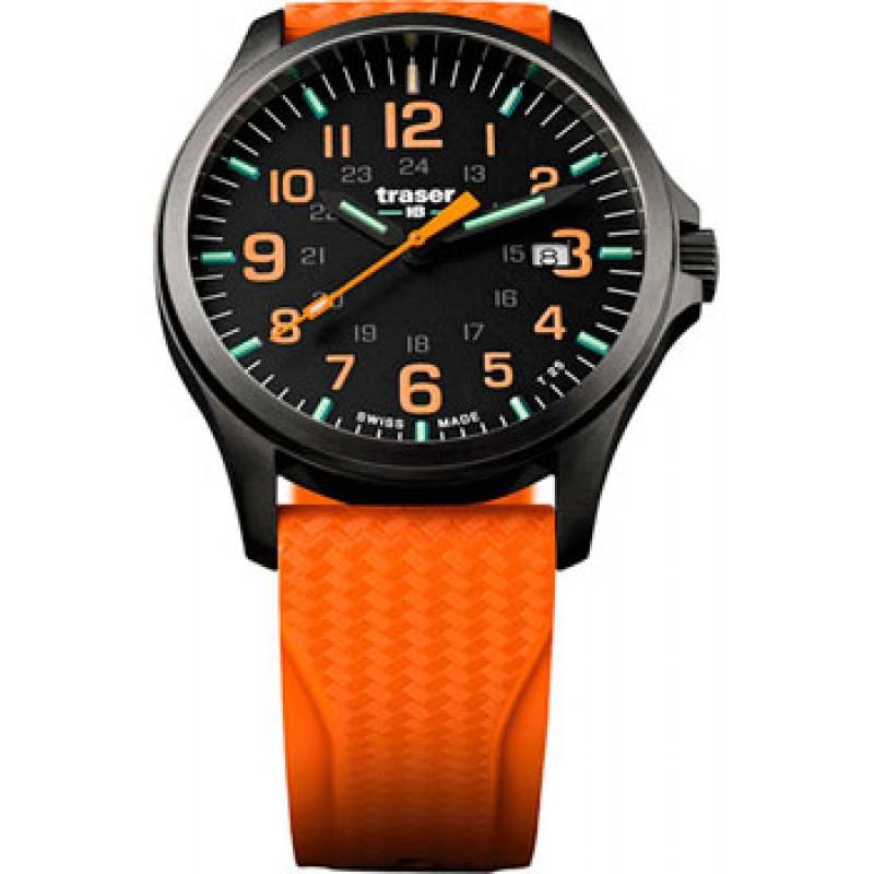 Швейцарские наручные  мужские часы Traser TR.107871. Коллекция Professional