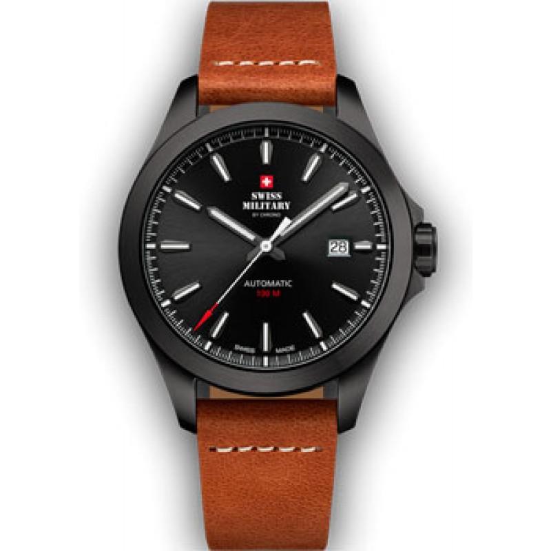 Швейцарские наручные  мужские часы Swiss military SMA34077.11. Коллекция Automatic Collection