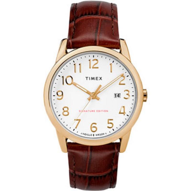 женские часы Timex TW2R65100RY. Коллекция Easy Reader Signature
