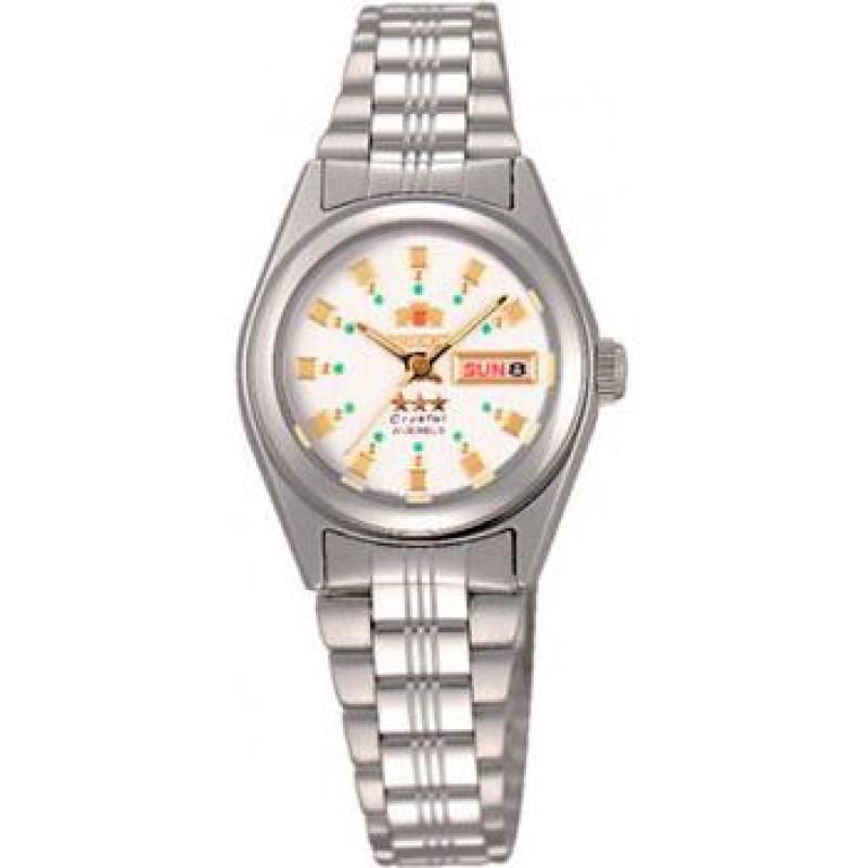 Японские наручные  женские часы Orient NQ1X003W. Коллекция Three Star