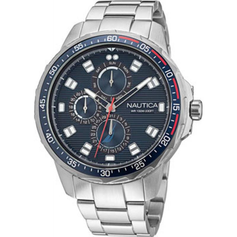 Швейцарские наручные  мужские часы Nautica NAPCLF011. Коллекция Coba Lake