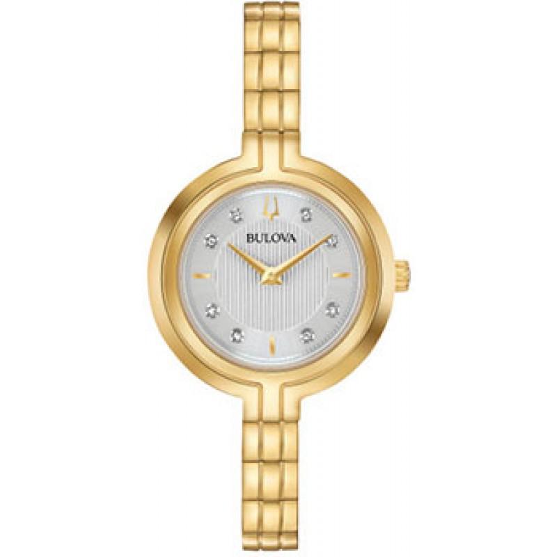 Японские наручные  женские часы Bulova 97P144. Коллекция Rhapsody