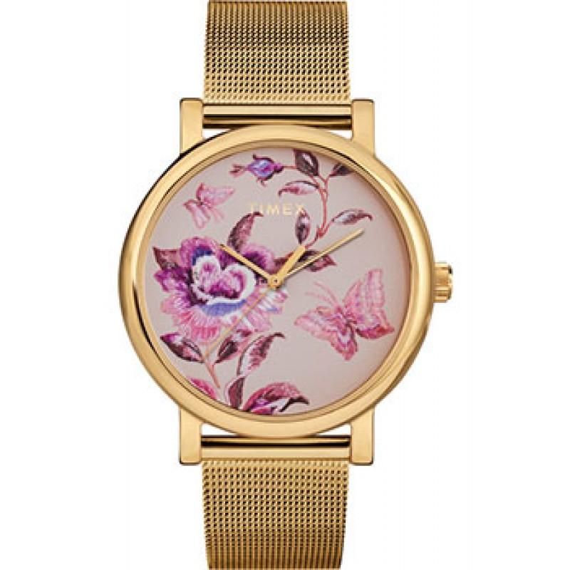 женские часы Timex TW2U19400VN. Коллекция Full Bloom