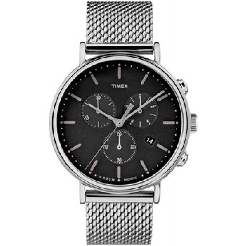 мужские часы Timex TW2R61900VN. Коллекция Fairfield Chronograph