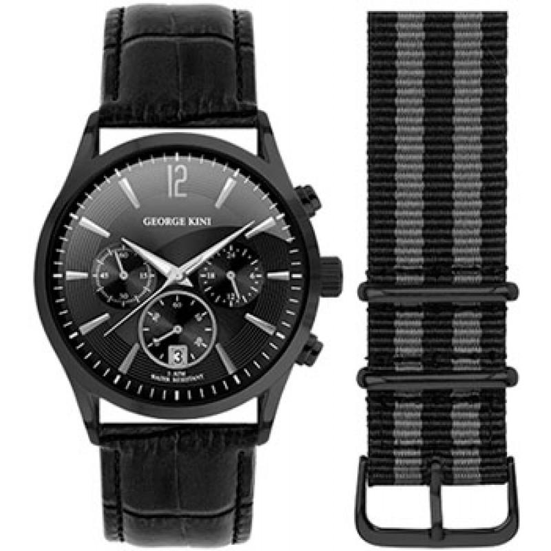 fashion наручные  мужские часы George Kini GK.17.B.5S.1.5.0. Коллекция Gents Collection