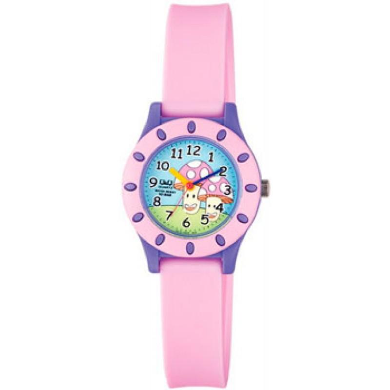 Японские наручные  мужские часы Q&Q VQ13J009. Коллекция Kids