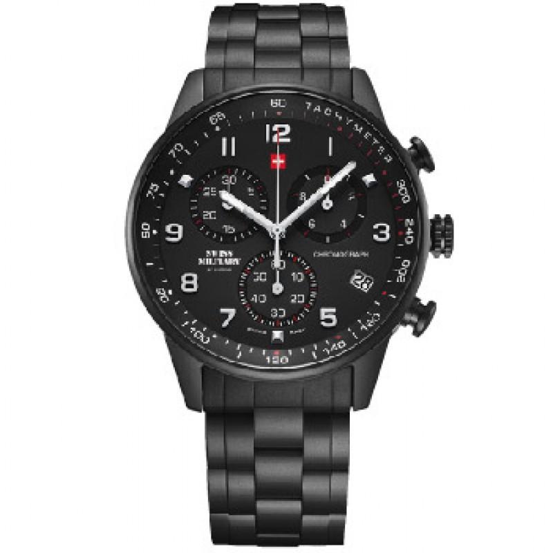 Швейцарские наручные  мужские часы Swiss military SM34012.04. Коллекция Minimalist