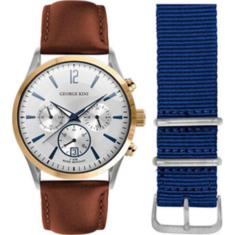fashion наручные  мужские часы George Kini GK.41.7.1SY.1BU.1.3.0. Коллекция Gents Collection