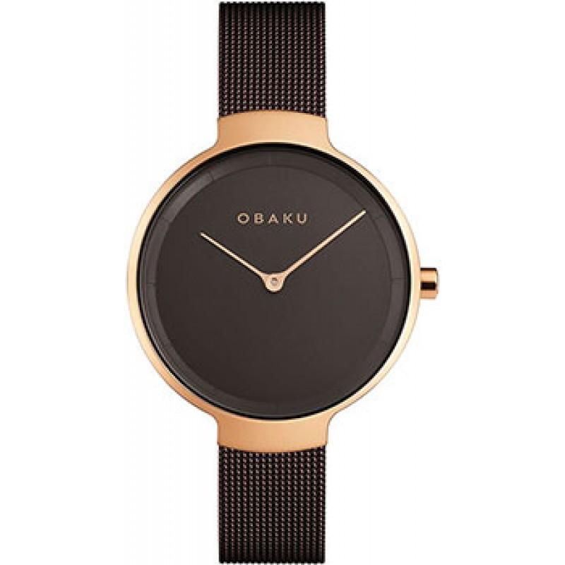 fashion наручные  женские часы Obaku V231LXVNMN. Коллекция Mesh